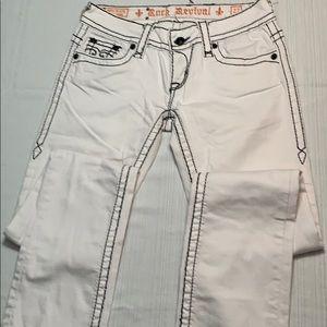 Rock Revival Jeans - Rock Revival Jen Straight Leg Jean